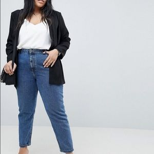 ASOS Jackets & Coats - ASOS Curve Tailored Easy Chuck On Blazer.